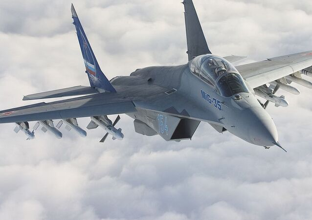 The MiG-35 fighter jet