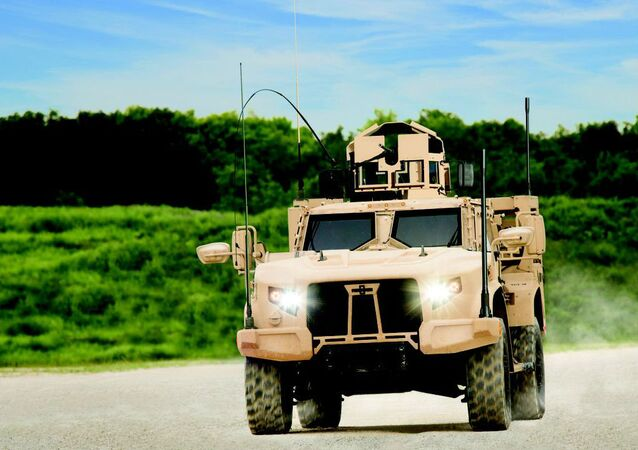 The Joint Light Tactical Vehicle by truck-maker Oshkosh Corp.