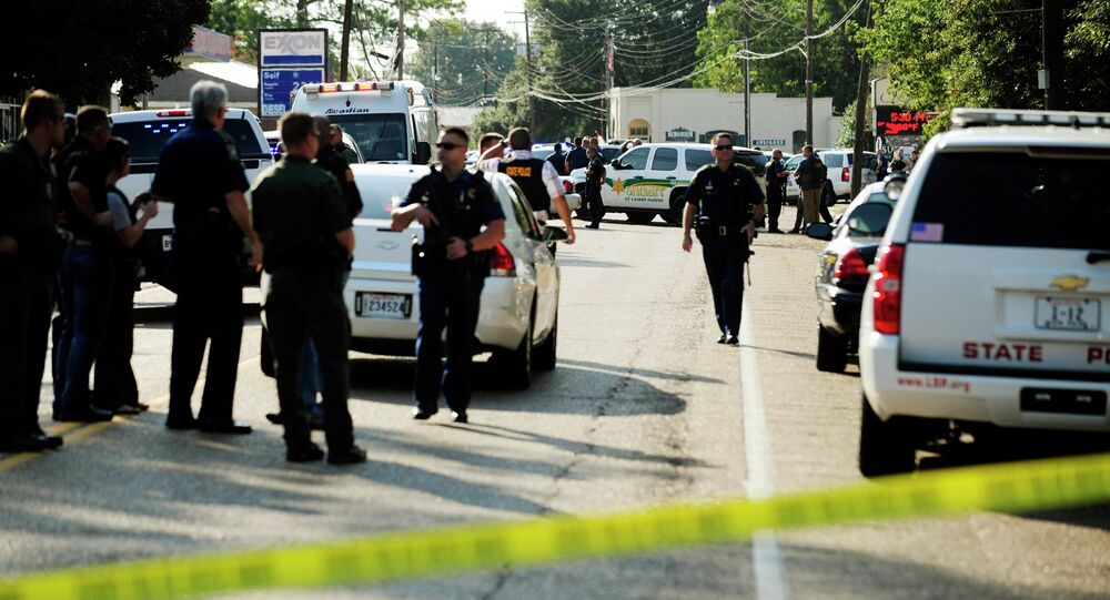 The killing of an African American man who was shot by a police officer outside a convenience store in Louisiana's Baton Rouge has sparked public protests