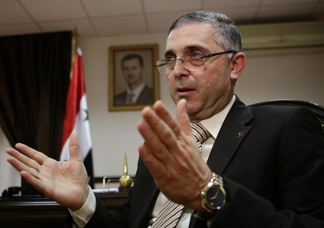 Syrian Minister of State for National Reconciliation Affairs Ali Haidar