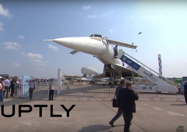 Legendary Soviet-era Tu-144 supersonic aircraft on show at MAKS-2015
