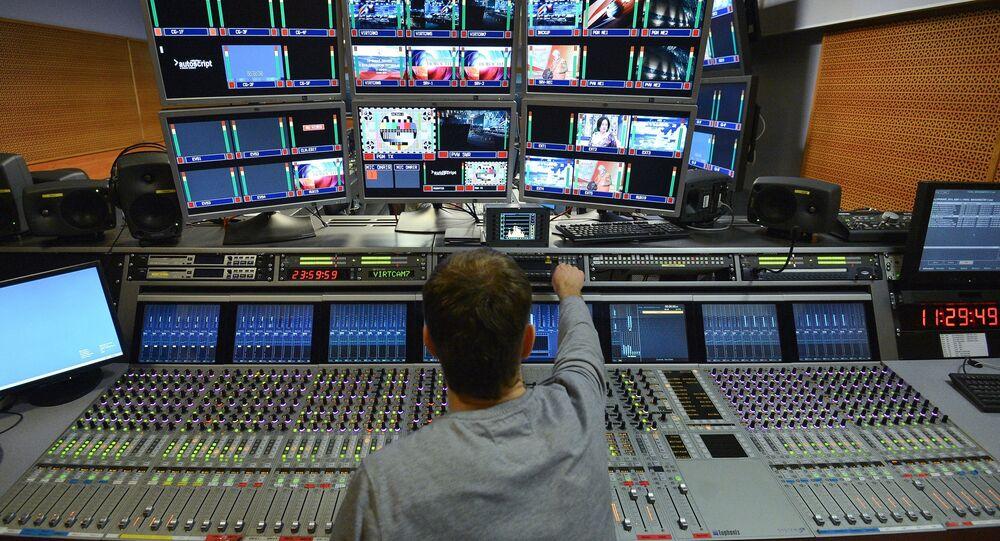 Ostankino TV Center in Moscow