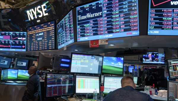 Trading Floor at the New York Stock Exchange. - Sputnik International