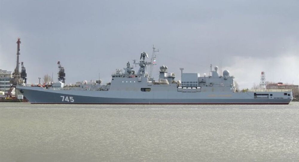 The Admiral Grigorovich frigate, designed for the Russian Black Sea Fleet