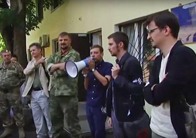 Foreign volunteers demanded Ukrainian nationality in Kiev