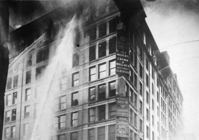 Triangle Shirtwaist Factory fire on March 25 - 1911