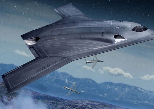 Long Range Strike Bomber concept art