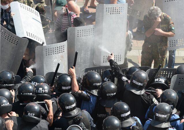 Protest rallies in Kiev