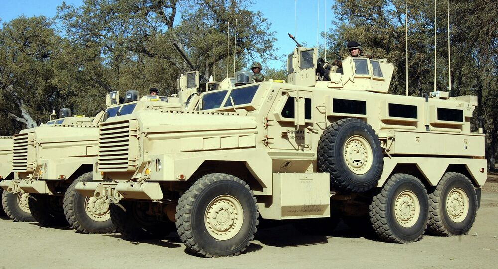 The Cougar infantry mobility vehicle