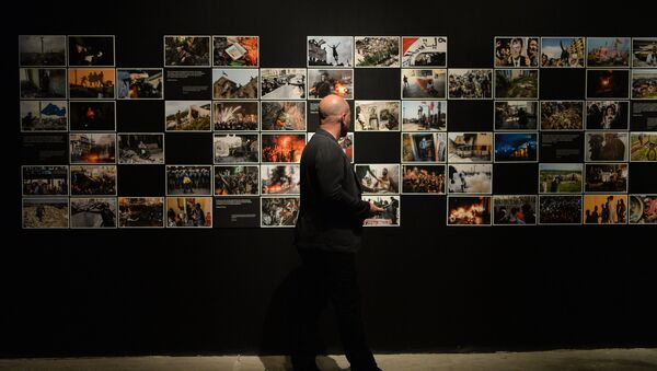 """Opening of """"…So That You Know"""" exhibition - Sputnik International"""