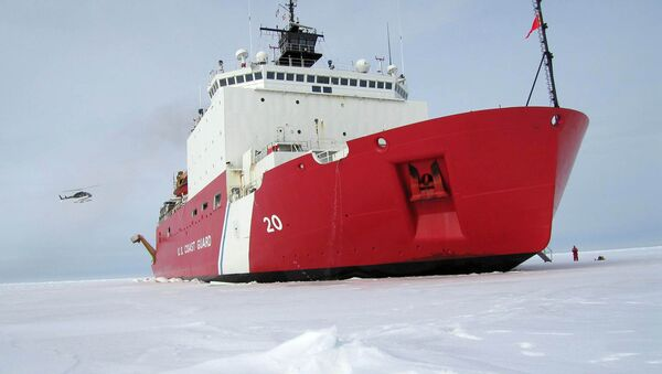 420-foot (128m) Coast Guard cutter Healy the largest and most technically advanced icebreaker in the US - Sputnik International
