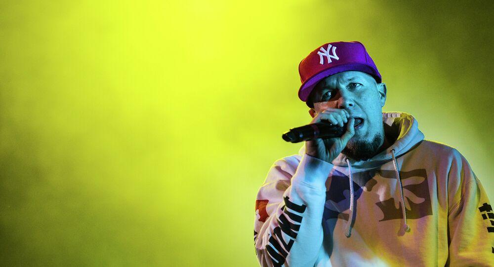Limp Bizkit's vocalist Fred Durst during the concert at Stadium Live