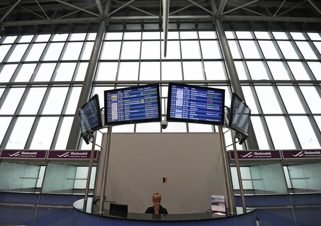 New terminal of Vladivostok international airport