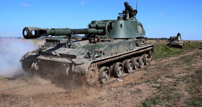 Military exercise in Kaliningrad Region