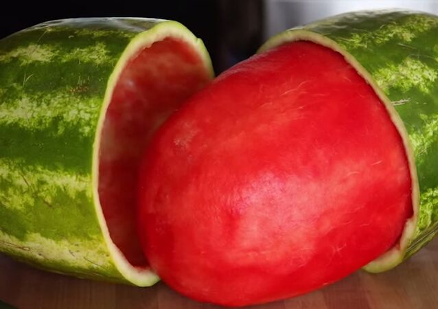Perfectly Skinned Watermelon Trick