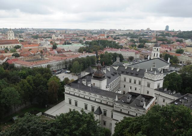 World cities. Vilnius