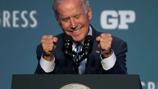 Vice President Joe Biden speaks at Generation Progress's 10th Annual Make Progress National Summit in Washington. - Sputnik International