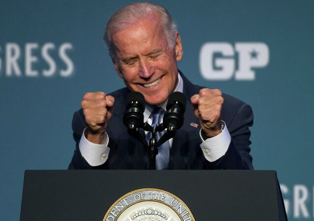 Vice President Joe Biden speaks at Generation Progress's 10th Annual Make Progress National Summit in Washington.
