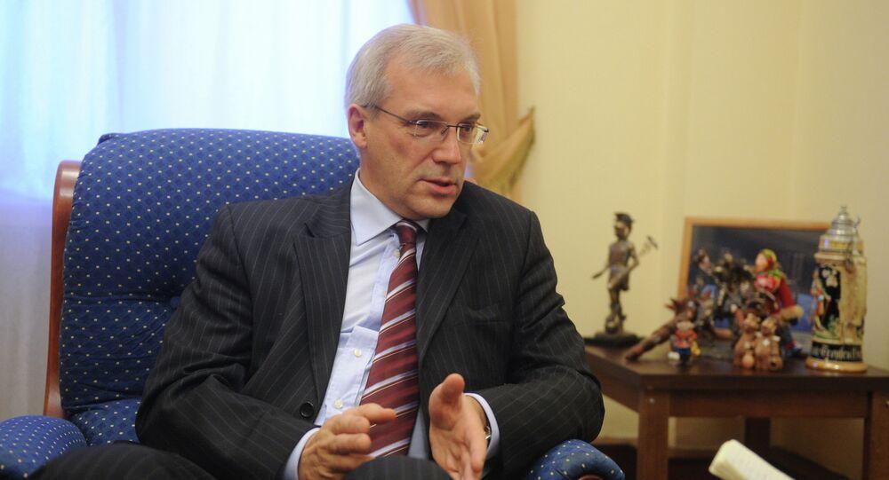 Deputy Foreign Minister Alexander Glushko