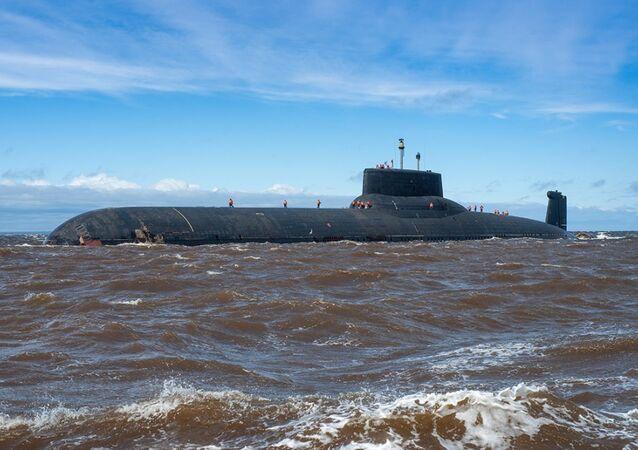 Dmitry Donskoy nuclear submarine