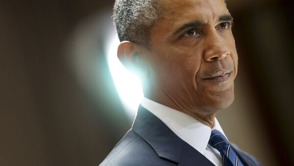 U.S. President Barack Obama delivers remarks on a nuclear deal with Iran at American University in Washington August 5, 2015 - Sputnik International