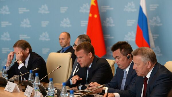 Key session The future of the Pacific Rim Country dialogue Russia - China - Sputnik International
