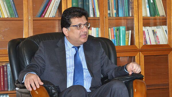 Zaheer Janjua, the Pakistani ambassador to Russia - Sputnik International