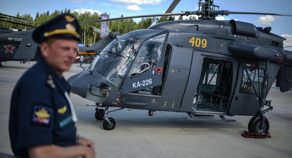 Ka-226 helicopter