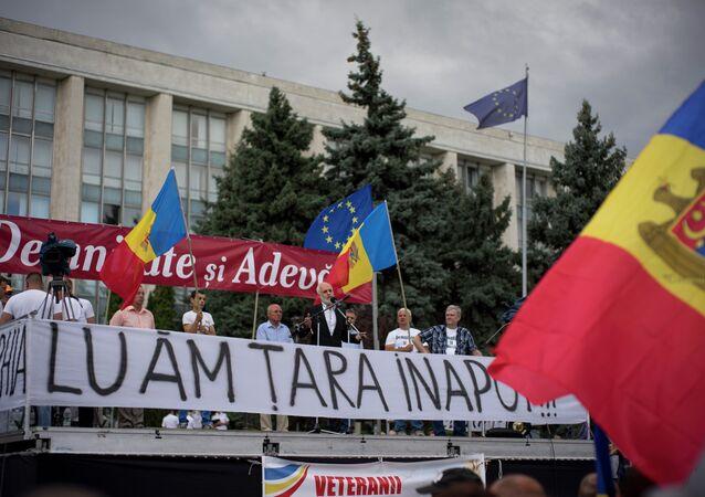 Protests in Chisinau