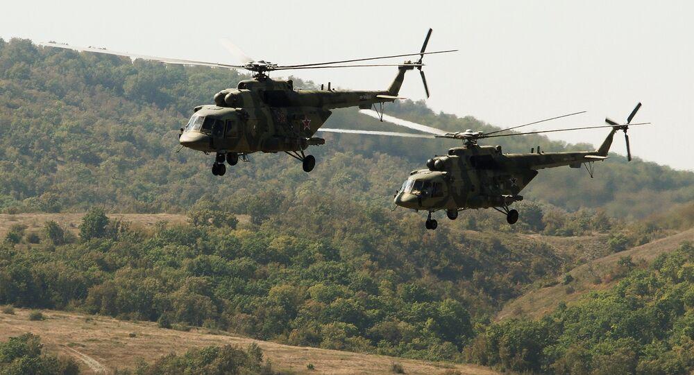 Paratroopers from Serbia, Russia, Belarus hold drill in Krasnodar region