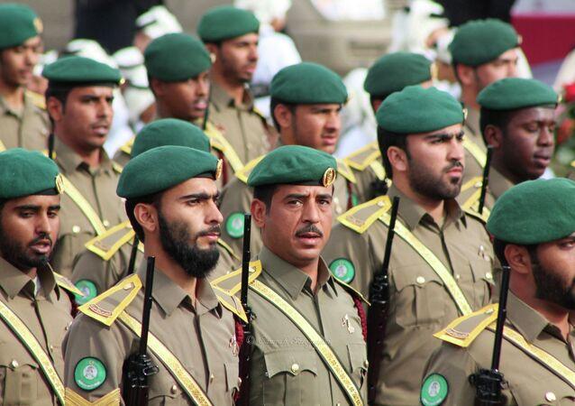 Qatari soldiers