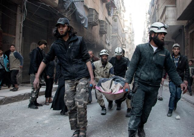 Syrian Civil Defence workers