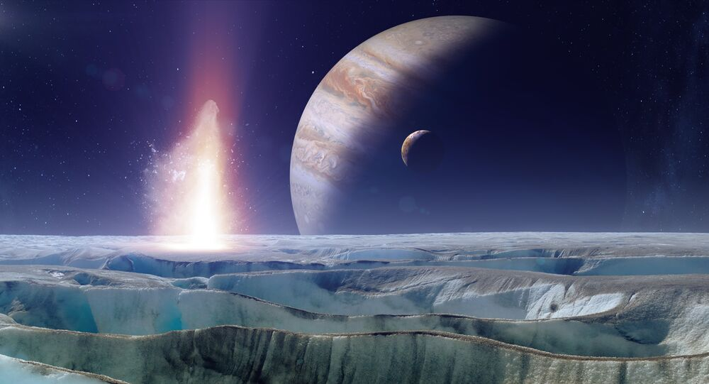 NASA plans to send a probe down to the surface of Europa, where life may exist in vast oceans beneath the ice.