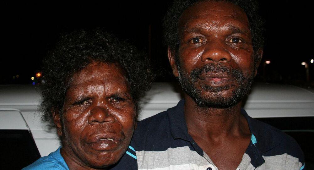 Australian aboriginals.