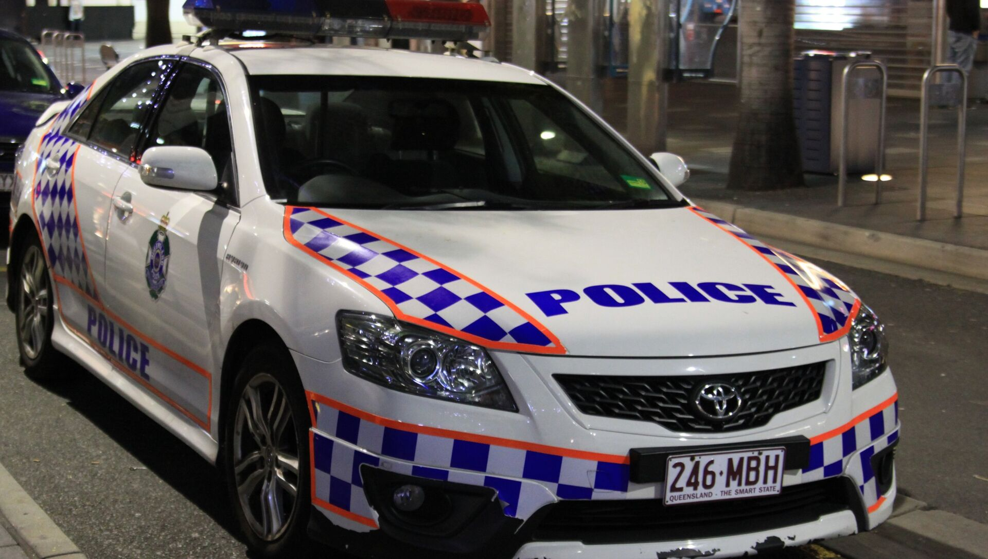 A police car in Gold Coast, Queensland, Australia - Sputnik International, 1920, 02.08.2021
