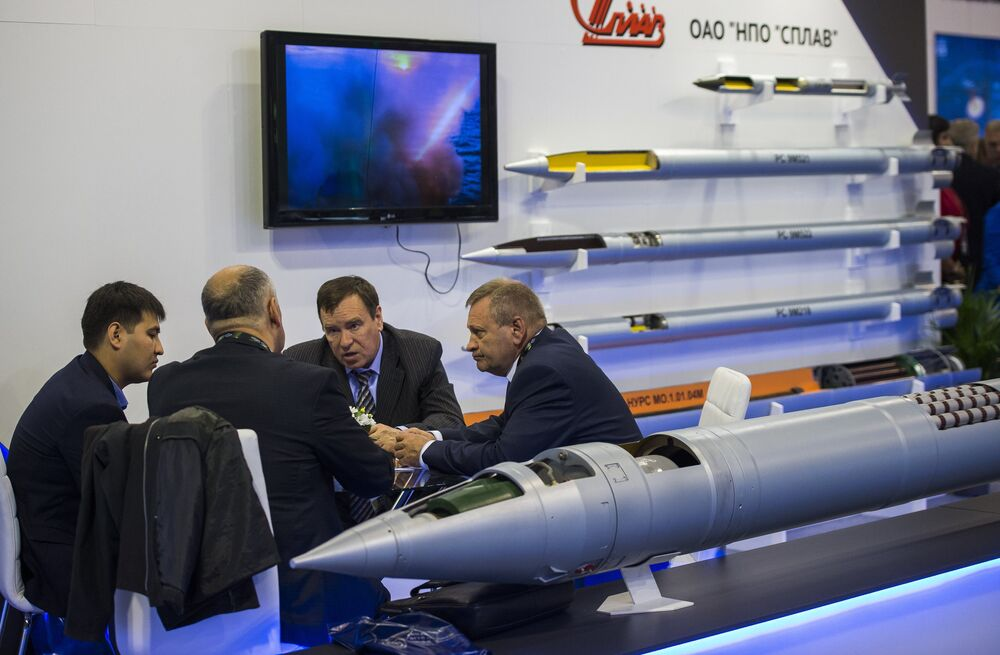 Hardware in Its Full Splendor: Tour of Russia's 10th Annual Int'l Arms Expo
