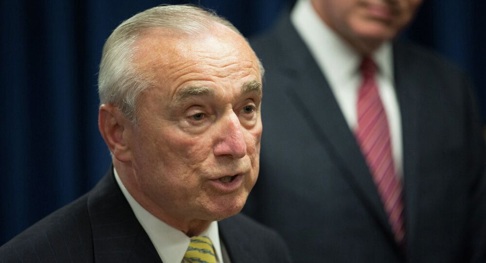 New York Police Commissioner Bill Bratton