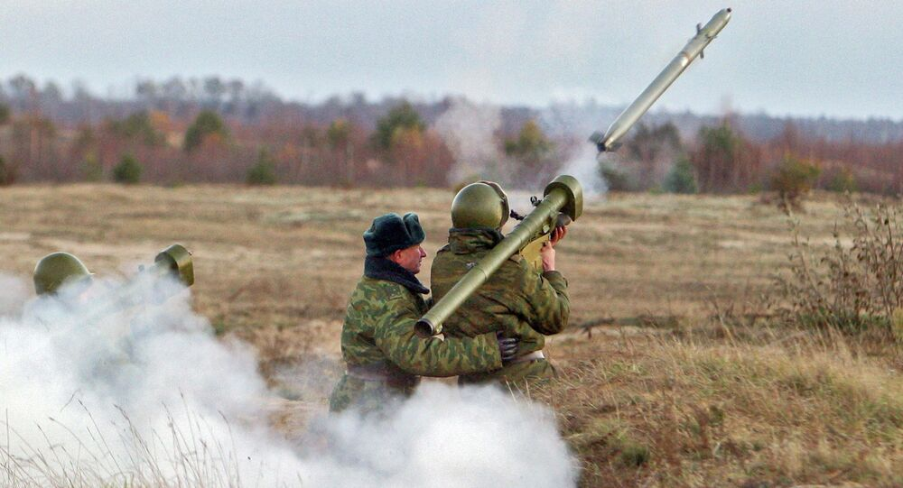 Igla hand-held antiaircraft missile systems