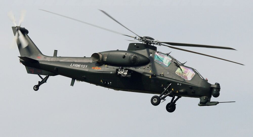 WZ-10 helicopter