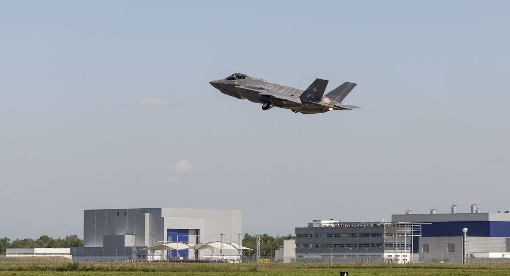 A Norwegian pilot training at the Luke Air Force Base in Arizona became the first pilot in his country's air force to fly F-35.