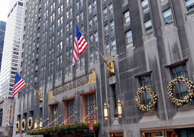 The Waldorf-Astoria Hotel in New York City