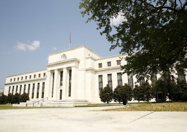 The Federal Reserve building in Washington September 1, 2015
