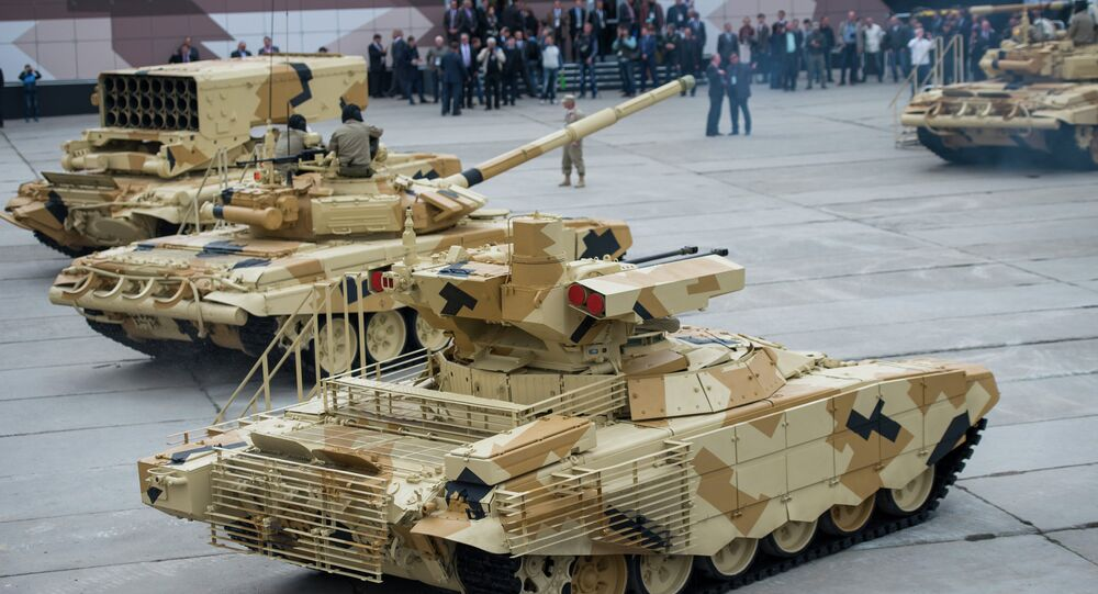 The Tenth Russia Arms Expo. Day Two