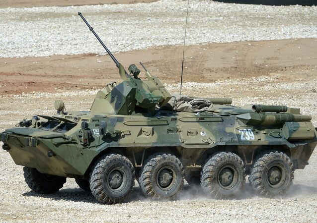 BTR-82A armored personnel carrier