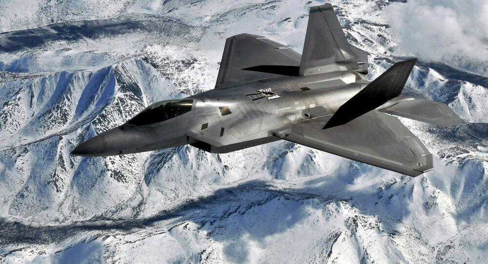 F-22 Raptor pilot from Elmendorf Air Force Base, Alaska