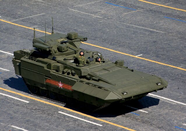 T-15 infantry fighting vehicle