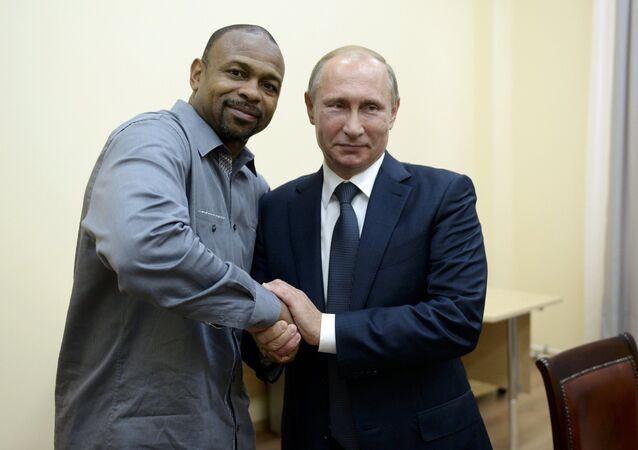 Russian President Vladimir Putin and Prime Minister Dmitry Medvedev visit Crimea