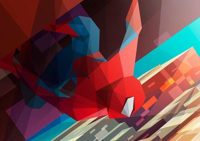 Polygon Spider Man