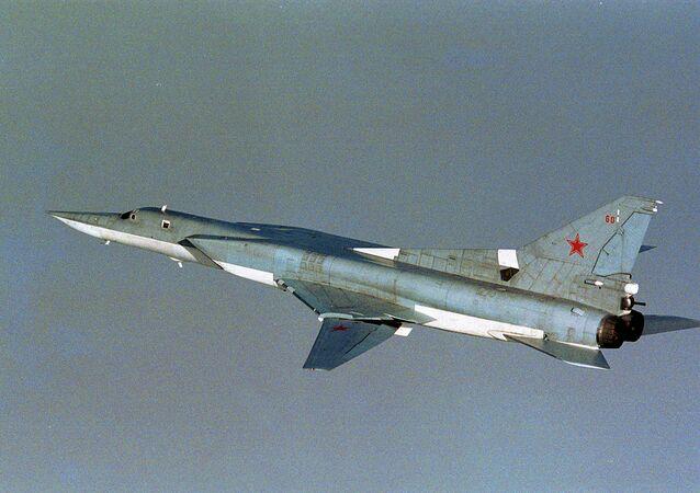 Russian TU-22M3 Backfire bomber