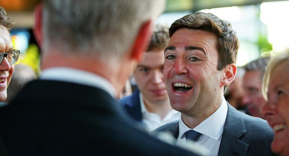 Andy Burnham has been appointed as the UK shadow home secretary.
